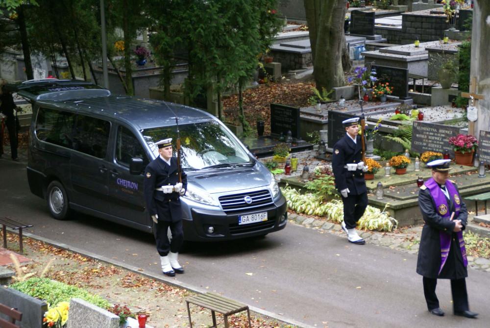 Pogrzeb wojskowy w Gdyni